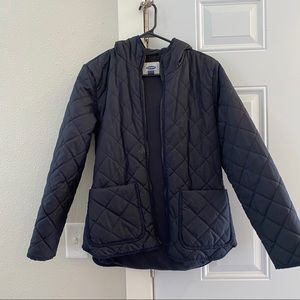 Old Navy Quilted Coat, Size Medium